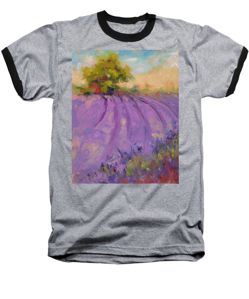 Wildrain Lavender Farm Baseball T-Shirt