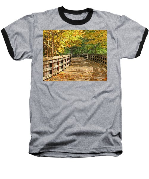 Wildwood Boardwalk Corrected Baseball T-Shirt