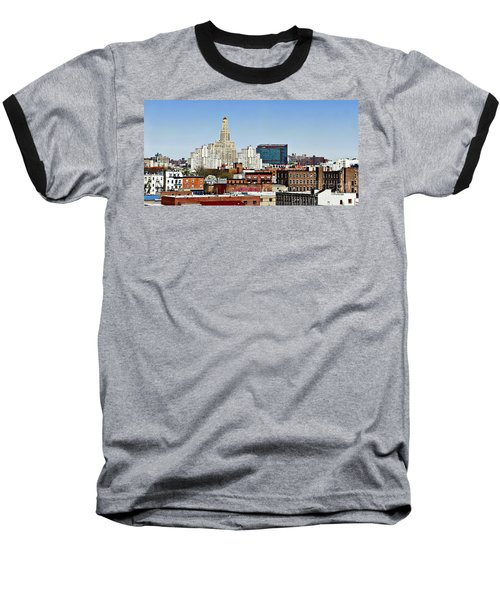 Williamsburg Savings Bank In Downtown Brooklyn Ny Baseball T-Shirt