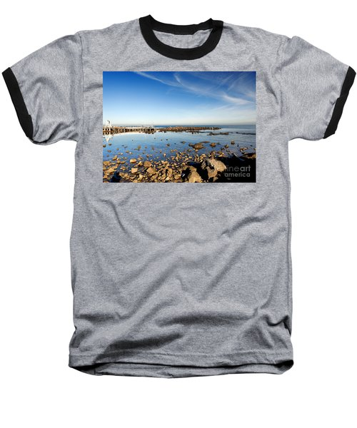 Baseball T-Shirt featuring the photograph Williamstown Beach by Yew Kwang