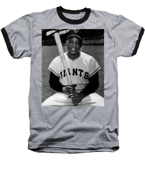 Willie Mays Baseball T-Shirt
