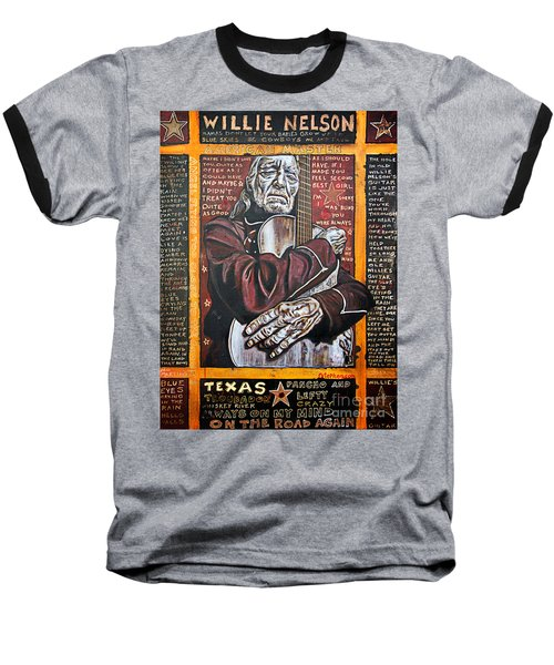 Willie Nelson Baseball T-Shirt
