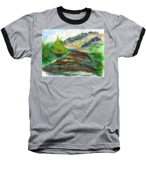 Willow Creek In Spring Baseball T-Shirt by C Sitton