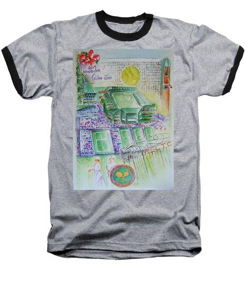Wimbledon 2014 Baseball T-Shirt