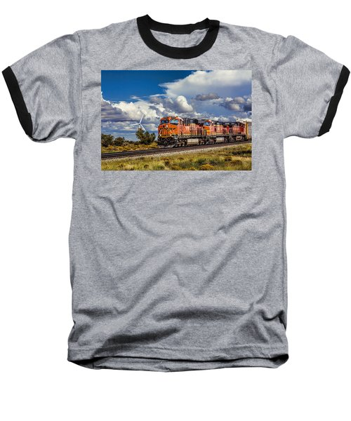 Wind And Rail Baseball T-Shirt