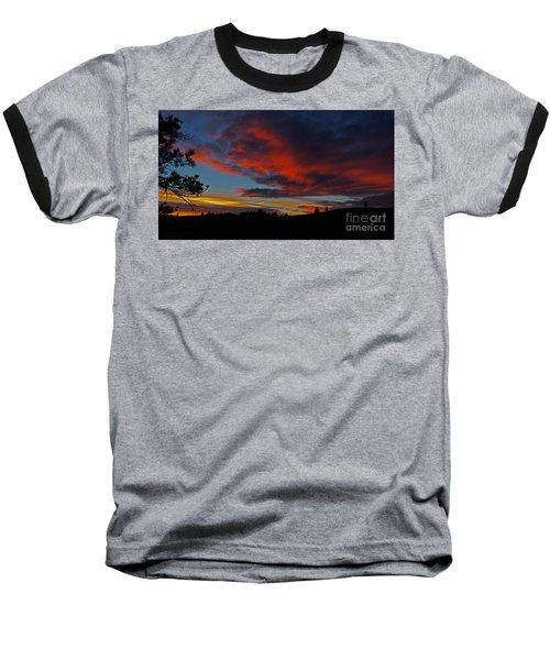 Black Hills Sunset Baseball T-Shirt