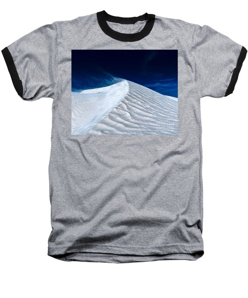 Wind Over White Sands Baseball T-Shirt
