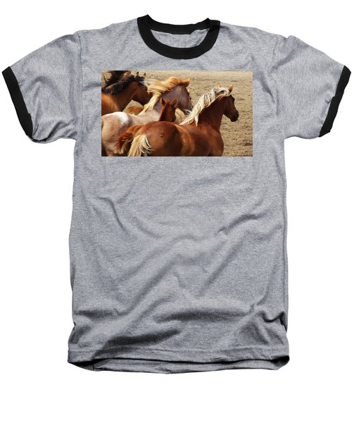 Wind Spirits Baseball T-Shirt