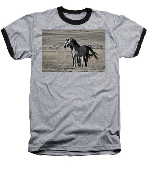 Windblown Baseball T-Shirt by Wes and Dotty Weber