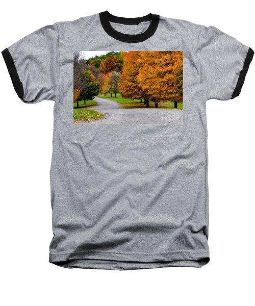 Winding Road Baseball T-Shirt