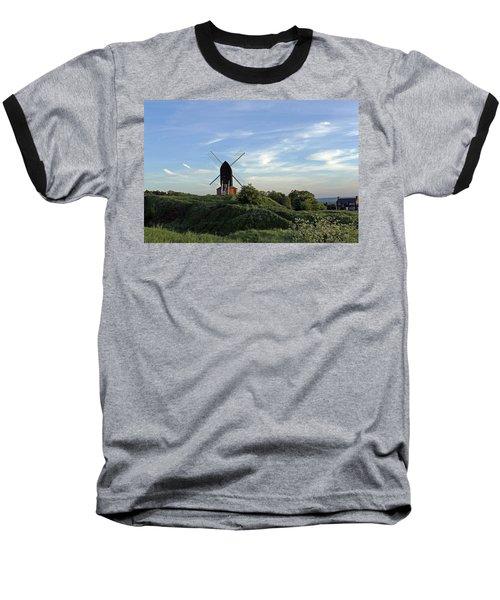 Windmill On Brill Common Baseball T-Shirt