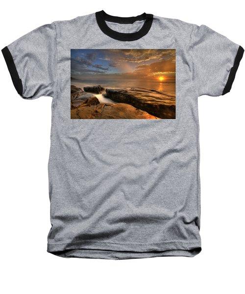 Windnsea Gold Baseball T-Shirt