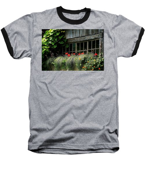 Window Boxes Baseball T-Shirt