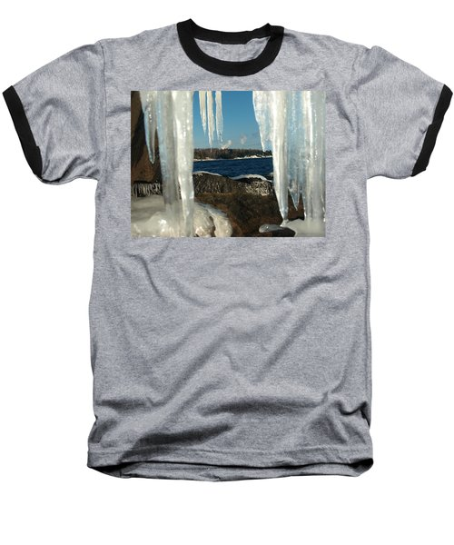 Baseball T-Shirt featuring the photograph Window Into Minnesota by James Peterson