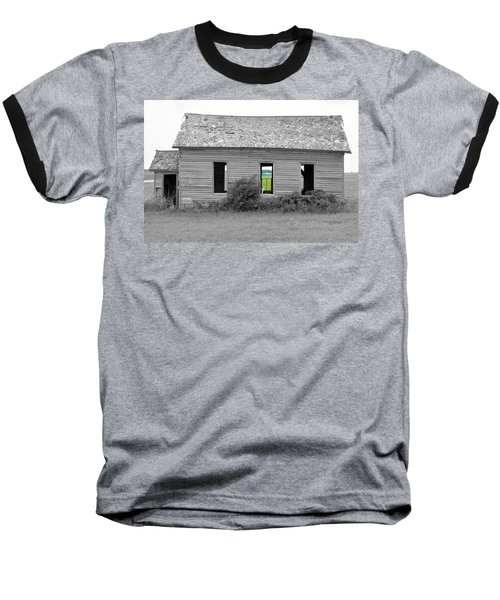 Window To The Future Baseball T-Shirt