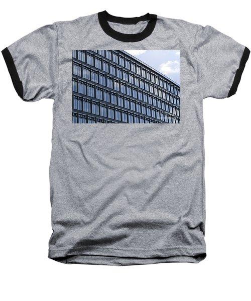Windows In Copenhagen Baseball T-Shirt by Victoria Harrington