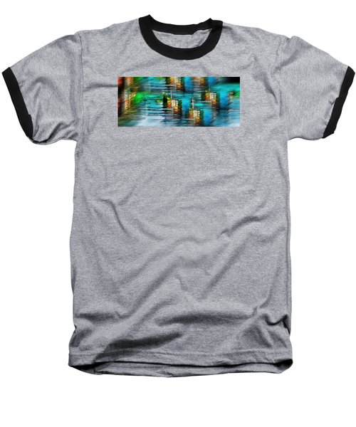 Baseball T-Shirt featuring the photograph Windows Into The Blue by Pamela Blizzard