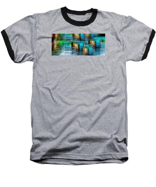 Windows Into The Blue Baseball T-Shirt