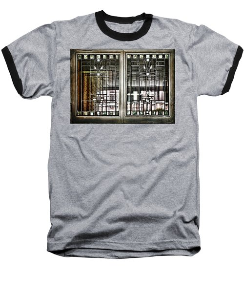 Windows Of A Prairie House  Baseball T-Shirt
