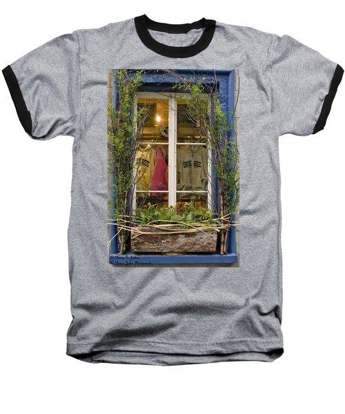 Windows Of Quebec 3 Baseball T-Shirt