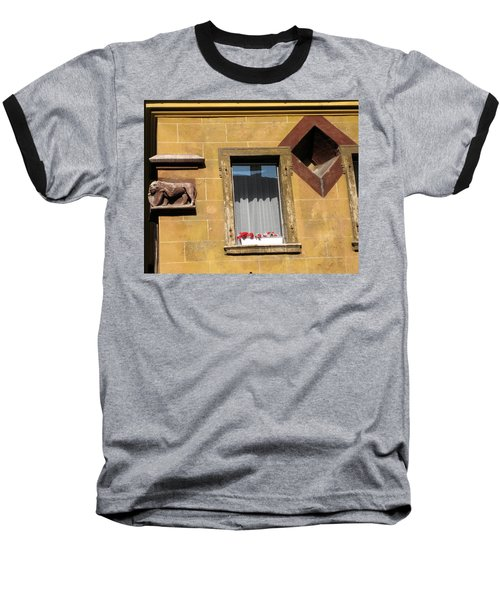 Baseball T-Shirt featuring the photograph Windows To Budapest by Judith Morris