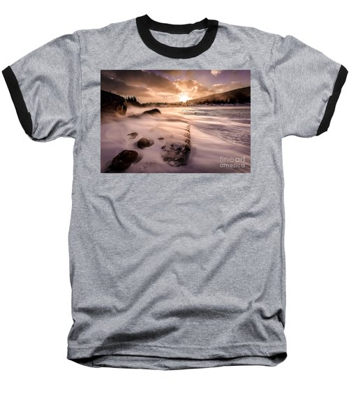 Windy Morning Baseball T-Shirt