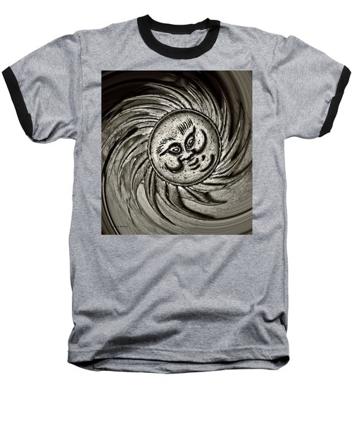 Windy Sun  Baseball T-Shirt by Chris Berry