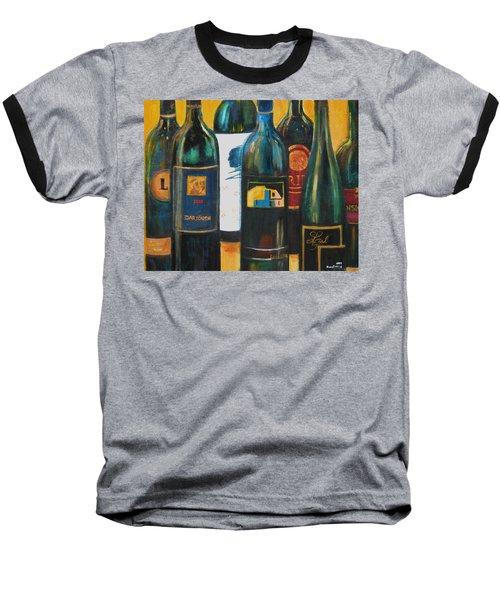 Wine Bar Baseball T-Shirt