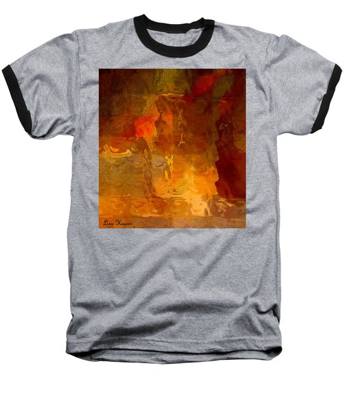 Baseball T-Shirt featuring the photograph Wine By Candlelight by Lisa Kaiser