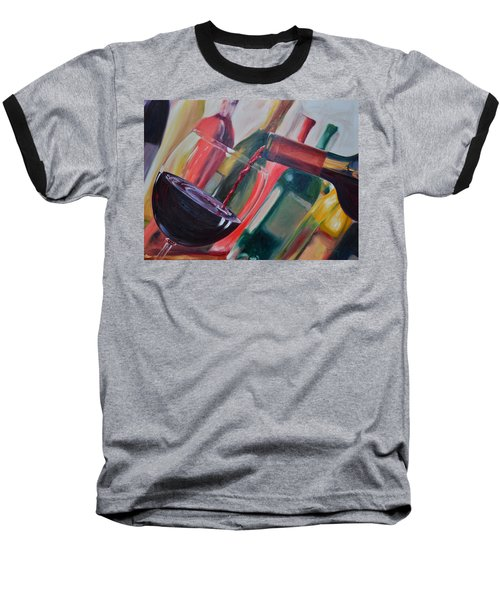 Wine Pour IIi Baseball T-Shirt