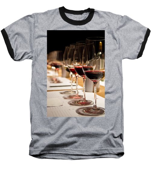 Wine Tasting Baseball T-Shirt
