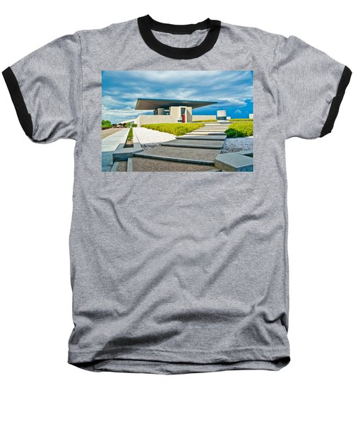 Winery Modernism Baseball T-Shirt