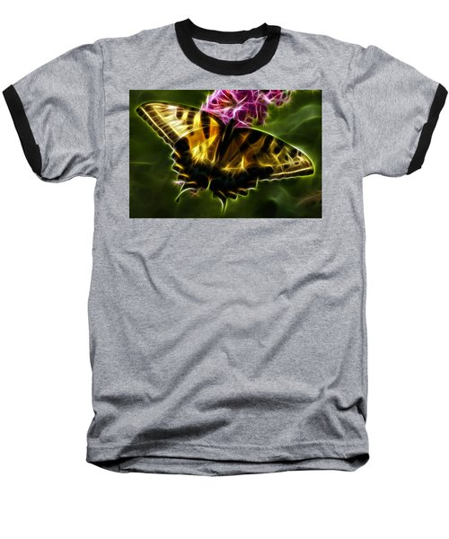 Winged Beauty Baseball T-Shirt by Joann Copeland-Paul