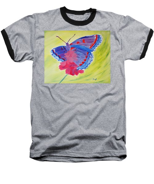 Winged Delight Baseball T-Shirt