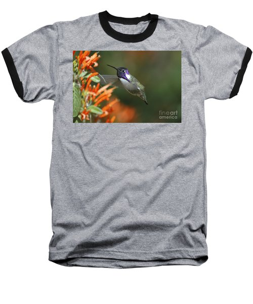 Baseball T-Shirt featuring the photograph Winged Jewelry by Wilma  Birdwell