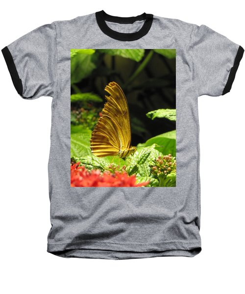 Wings Of Gold Baseball T-Shirt