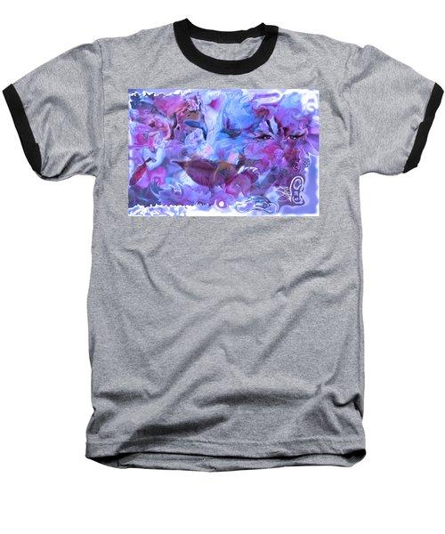 Wings Of Joy Baseball T-Shirt by Deprise Brescia