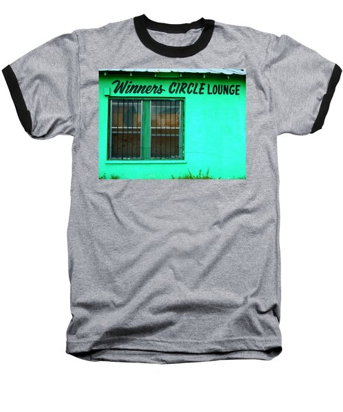 Winner's Circle Lounge Baseball T-Shirt