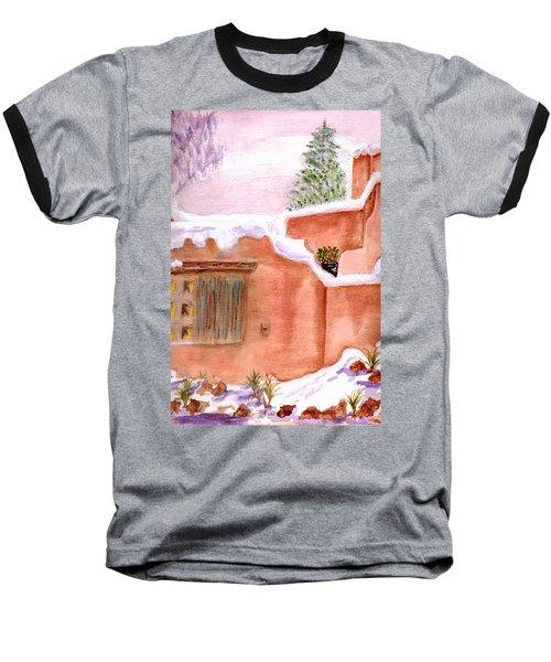 Winter Adobe Baseball T-Shirt