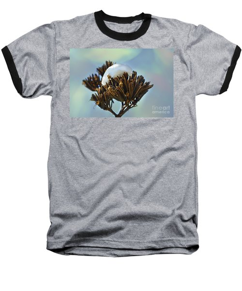 Winter Agave Bloom Baseball T-Shirt