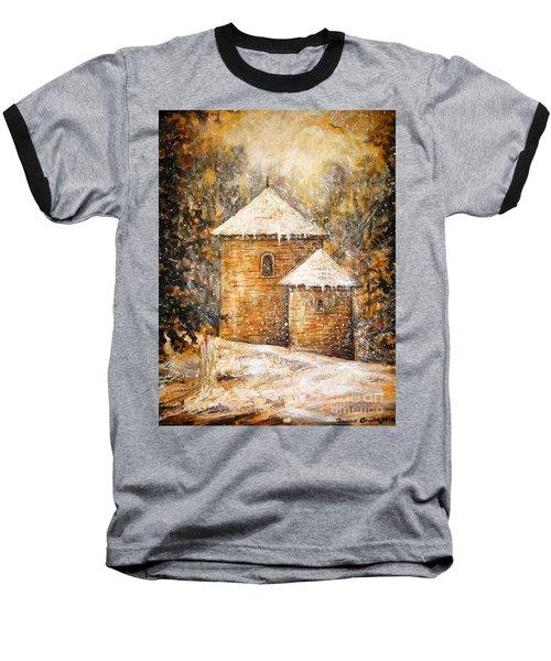 Winter Angel Baseball T-Shirt
