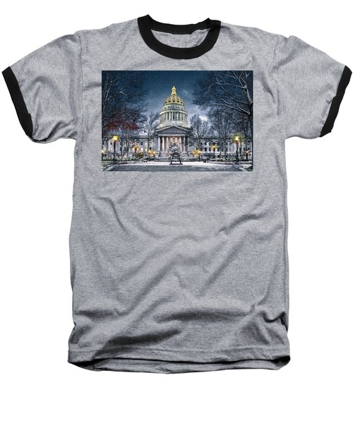 Winter At The Capitol Baseball T-Shirt