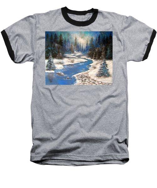 One Little Blue Baseball T-Shirt