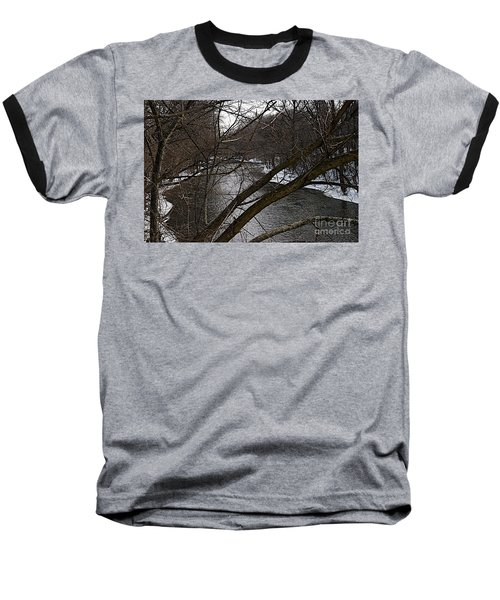 Winter Cedar Baseball T-Shirt