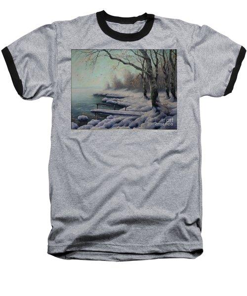 Winter Coming On The Riverside Baseball T-Shirt