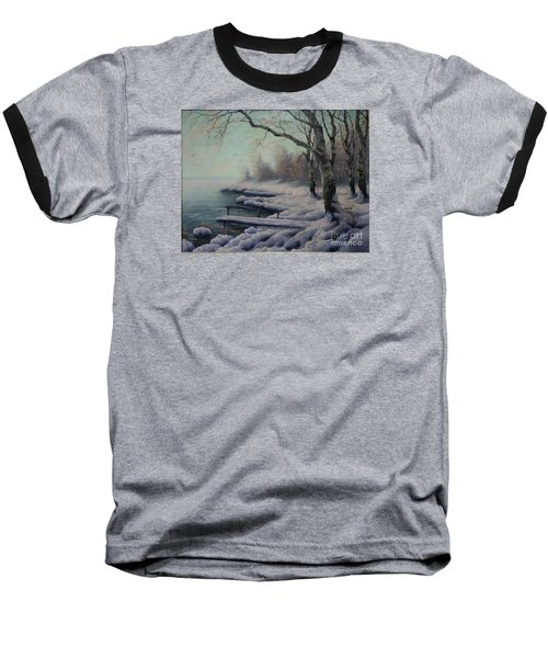 Winter Coming On The Riverside Baseball T-Shirt
