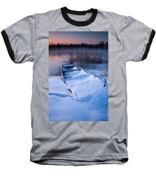 Baseball T-Shirt featuring the photograph Winter Dawn by Davorin Mance