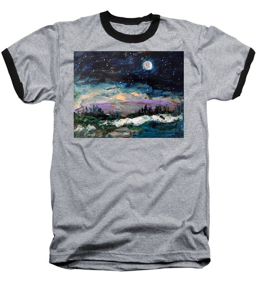 Winter Eclipse Baseball T-Shirt