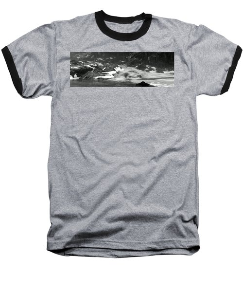 Winter Falls Baseball T-Shirt