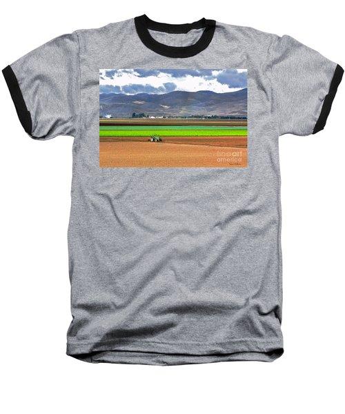Winter Farm In California Baseball T-Shirt